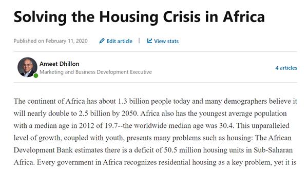 Solve Housing Crisis